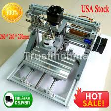 details about 3 axis diy cnc 1610 wood engraving carving pcb milling machine router engraver