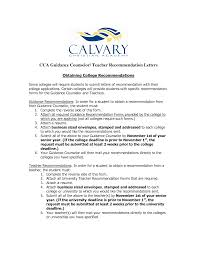 Writing Recommendation Letters For College Admission