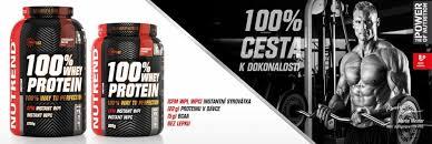 Výsledek obrázku pro Nutrend 100% Whey Protein 2250g