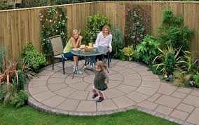 Small Picture small backyard paving ideas Practical simple garden paving