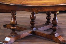 excellent large round dining table 1 big tables comfortable 20 mahogany