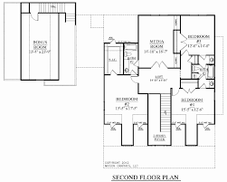 two story house plans with bonus room above garage best of single story house plans with