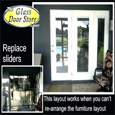 sliding glass door replacement options cost to replace sliding door with french doors arresting replacing sliding