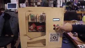 Homemade Candy Vending Machine Inspiration This Homemade Candy Vending Machine Accepts Bitcoin
