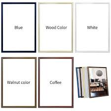 white certificate frame photo frame wall art classic reinforce a4 poster frame for wall hanging photo frame wall certificate frame