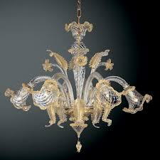 full size of lighting nice clear murano glass chandelier 11 good looking 8 gold and for