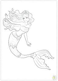 Mermaid Coloring Pages Printable Mermaid Coloring Pages Free Little