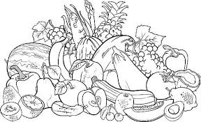 Fruit Coloring Pages Games Bibleverseimagesga