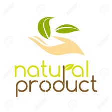 Natural Products Logo Design Natural Product Logo Design Template Vector Illustration Isolated