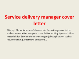Ideas Collection How To Write Cover Letter Ppt About Service