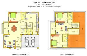 floor plan two story contemporary house