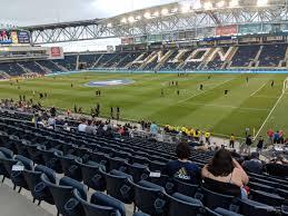 Talen Energy Stadium Section 102 Rateyourseats Com