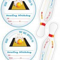 invitations cards free bowling invitations templates free free printable bowling