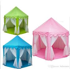 poartable folded kids play tents toys garden outdoor princess castle with mosquito net kids beach lawn tents toy children indoor game house tunnel tent kids