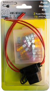 2 pack 20 gauge fuse holders in line fuses 20 awg ato 2 pack 20 gauge fuse holders in line fuses 20 awg