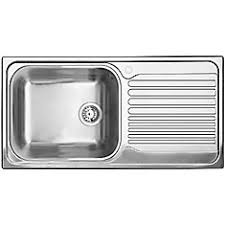 white kitchen sink with drainboard. Single Bowl, Right-Hand Drainboard Topmount Stainless Steel Kitchen Sink White With