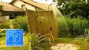 Garten Dusche Anlegen Tooltown Garten Youtube