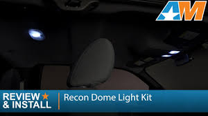 F150 Led Dome Lights 2004 2014 F 150 Recon High Power Led Dome Light Kit Review Install