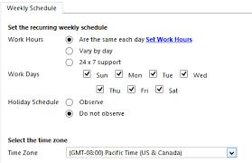 Define Customer Service Create A Customer Service Schedule And Define The Work Hours