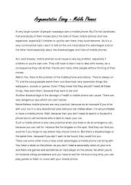 Example Essay Argumentative Sample For Argumentative Essay Oglasi