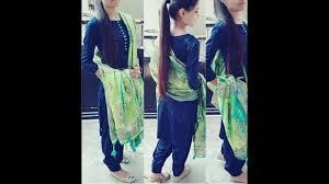Contrast Dress Design 2018 Punjabi Suit Designs Latest Punjabi Suits 2018 2019 Contrast