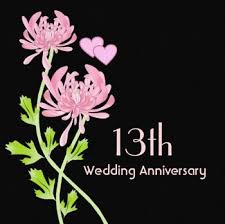 13th wedding anniversary