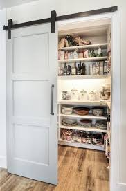 Barn Door Pantry via Decoist