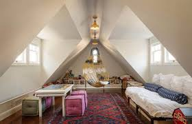 attic lighting. Amazing Attic Room With Windows And Hanging Lighting : Different Types Of Fixtures S