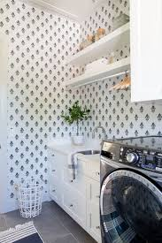 Laundry Room Wallpaper Designs Let Your Walls Do The Talking