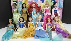 disney princess deluxe gift set rapunzel ariel tiana aurora mulan cinderella jasmine you