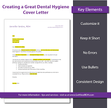 tips for creating a dental hygiene cover letter that gets you dental hygiene cover letters