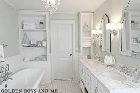 Classic White Bathroom Ideas Modern Double Sink A On Simple Design