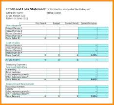 Free Profit And Loss Statement For Self Employed Custom Free Pl Statement Template Hockeyposter