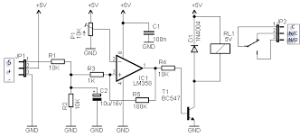 compact rc switch circuit rc switch circuit diagram