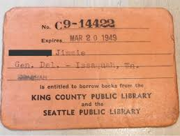 Lost/replaced library card (per card) $2.00. Tbt Wow This Kcls Library King County Library System Facebook