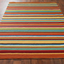 colorful rugs. Colorful Stripe Hooked Indoor Outdoor Rug Multi Rugs
