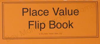 Place Value Flip Chart Printable Place Value Boy Mama Teacher Mama