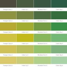 Green Paint Color Chart Green Paint Colours Chart Dulux Trade Colour Chart Crown