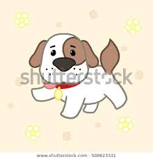 puppy drawing for kids. Beautiful Puppy Cartoon Cute Puppy Drawing For KidsVector Illustration Inside Puppy Drawing For Kids