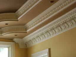 Crown moulding applied ceiling moulding and rosette~ The Maisonette Home  Design & Decorating Ideas