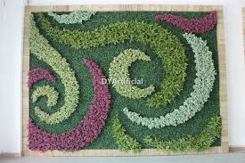 oem everygreen artificial grass walls indoor use