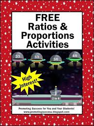 Ratios and Proportions Activities and Games | Math classroom ...