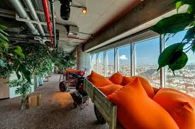 google tel aviv office. Picture Of Tractor In The Office. New Google Office Tel Aviv