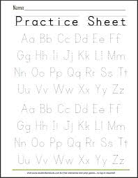 Printable Alphabet Writing Practice Sheets Free Printable Handwriting Abc Worksheet Now That Evie Can