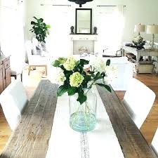 glass dining table decor ideas centerpieces for glass dining table cloth room runner ideas centerpiece round