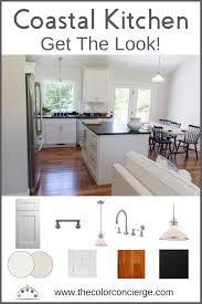 Coastal Cottage Kitchen Update Wonderful White Paint Colors