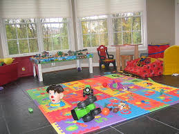 image of kids playroom rugs rubber