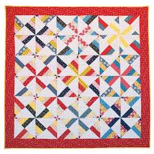 Amy Smart's Pinwheel Quilt Kit - Amy Smart - Riley Blake ... & Amy Smart's Pinwheel Quilt Kit Adamdwight.com