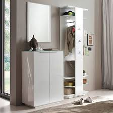 cheap hallway furniture. Canberra Hallway Furniture Set 2 In White High Gloss And Glass_1 Cheap