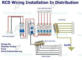 wiring diagram 3 phase rcd three wiring diagram Single Phase House Wiring Diagram wiring diagram 3 phase rcd rcd wiring installation in single phase distribution board single phase house wiring diagram pdf